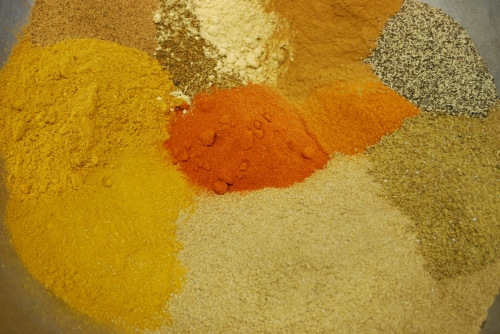 Moroccan spice blend.